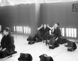 Osaka Sports Sciences University Kendo students